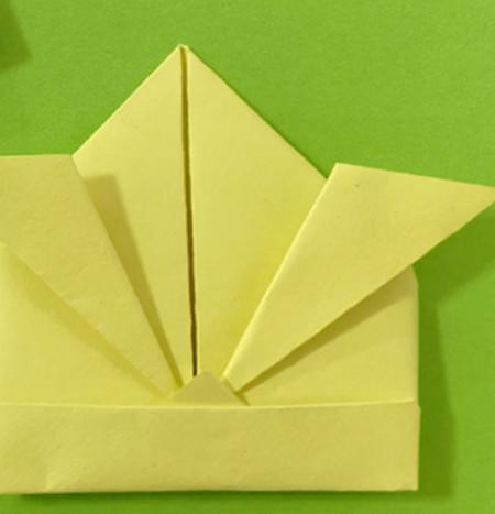 愤怒的小手工折纸步骤图 手工折纸-第11张