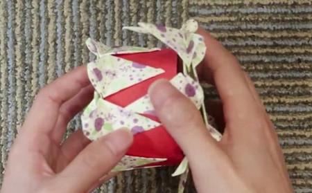 蛋糕手工折纸教程步骤图片 手工折纸-第15张
