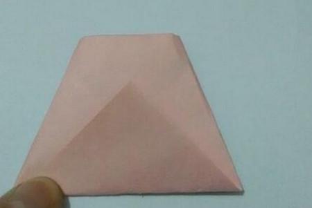 小猫指套折纸步骤图 手工折纸-第7张