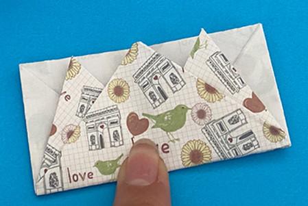 皇冠帽子折纸步骤图解 手工折纸-第15张