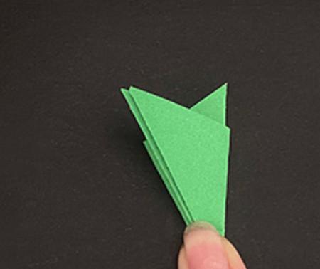 菠萝手工折纸方法图解 手工折纸-第20张