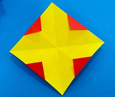立体无限翻转手工折纸图解 手工折纸-第6张