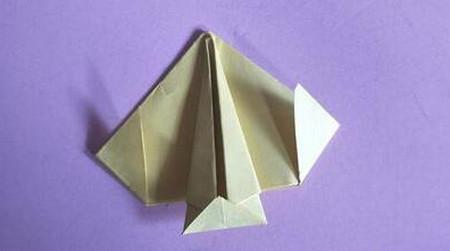 桃心折纸步骤图解 手工折纸-第9张