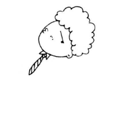 上班族简笔画画法教程 中级简笔画教程-第3张