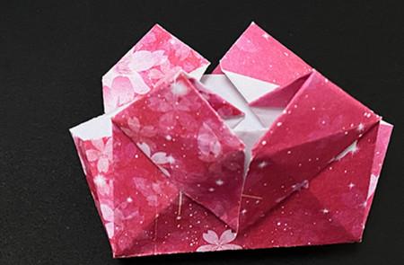 手提包折纸步骤图 手工折纸-第16张