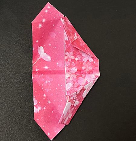 手提包折纸步骤图 手工折纸-第13张