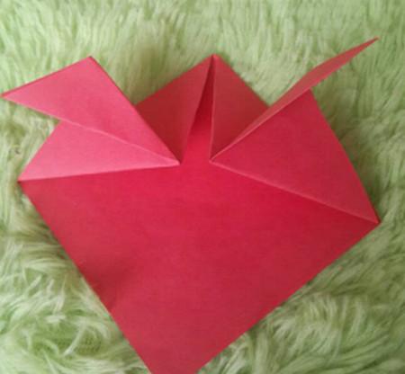 立体小金鱼的简单折法 手工折纸-第6张