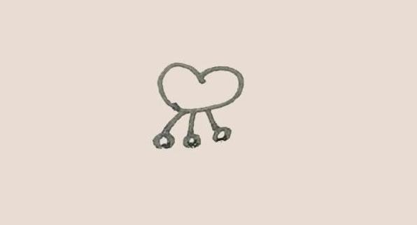 蝴蝶兰花朵简笔画的画法 中级简笔画教程-第3张