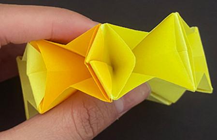 菠萝手工折纸方法图解 手工折纸-第12张