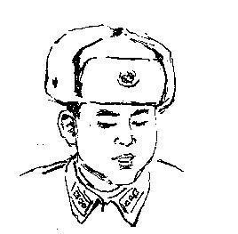 雷锋q版人物简笔画图片 人物-第4张