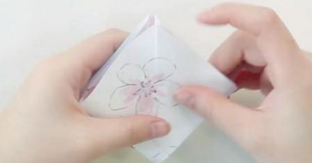手工折纸旋转木马教程图解 手工折纸-第11张