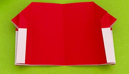 帐篷折纸方法图解 手工折纸-第13张