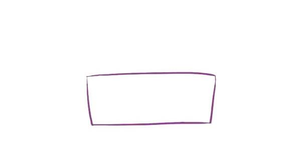 三层生日蛋糕简笔画,儿童简笔画蛋糕画法 初级简笔画教程-第2张
