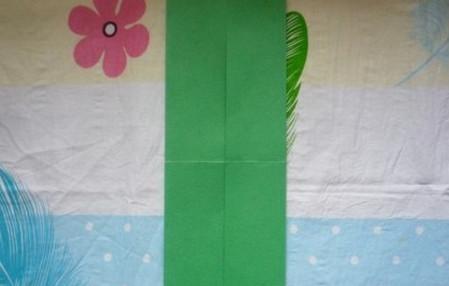 滑滑梯折纸步骤图 手工折纸-第4张