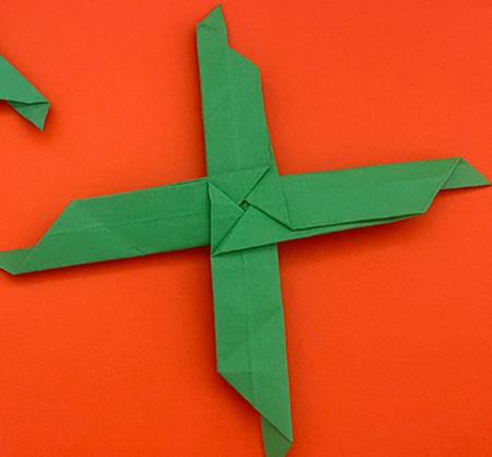回力标折纸教程图解 手工折纸-第1张