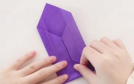 手工折纸文具盒步骤图 手工折纸-第7张