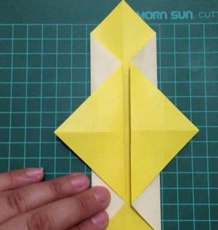 折纸灯笼立体简单做法 手工折纸-第4张