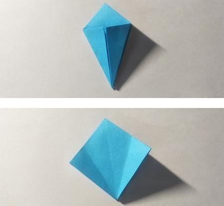 儿童手工锦鲤折纸图解 手工折纸-第4张