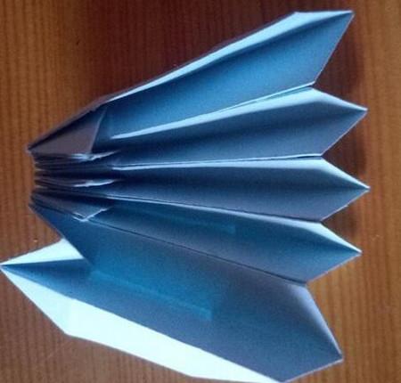 儿童手工折纸菊花步骤图解 手工折纸-第6张