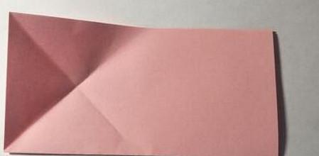五角星花折纸教程图解 手工折纸-第3张
