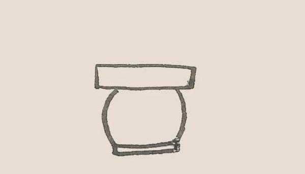 儿童简笔画仙人掌画法 初级简笔画教程-第3张