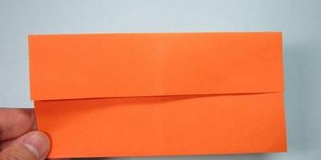 带翅膀爱心的折法图解 手工折纸-第3张