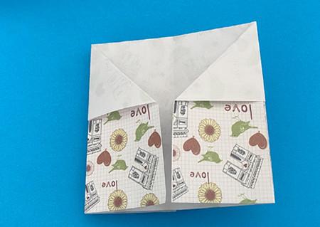 皇冠帽子折纸步骤图解 手工折纸-第6张