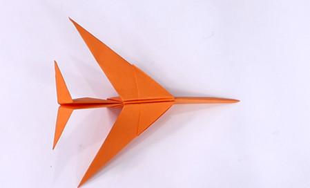 手工折纸飞机的步骤图解 手工折纸-第1张