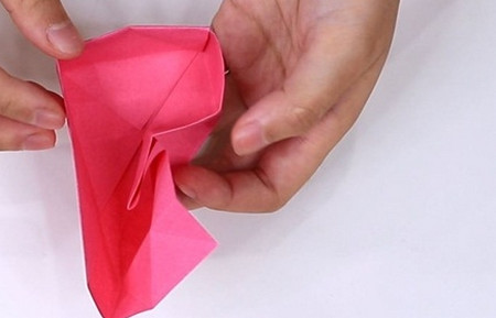儿童手工折纸心形盒子的折法图解 手工折纸-第11张