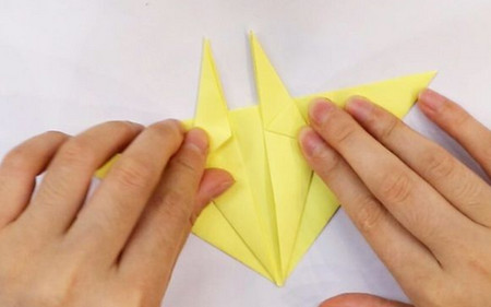 儿童手工折纸牛头步骤图解 手工折纸-第3张