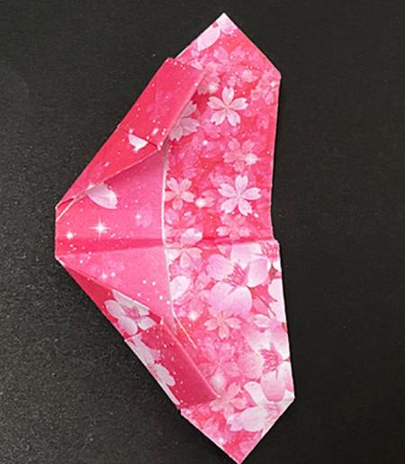手提包折纸步骤图 手工折纸-第12张