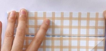 八瓣花手工折纸图解 手工折纸-第4张