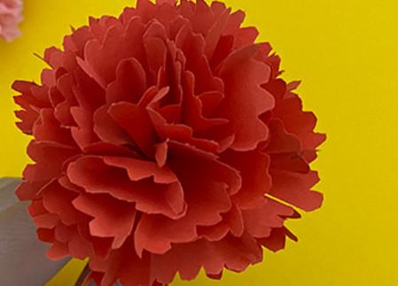 儿童手工折纸康乃馨花教程 手工折纸-第11张