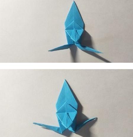 儿童手工锦鲤折纸图解 手工折纸-第10张