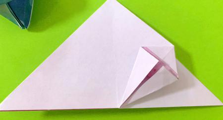 冰淇淋折纸步骤图解法 手工折纸-第8张