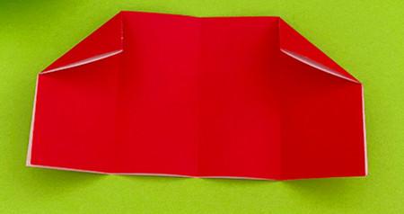 帐篷折纸方法图解 手工折纸-第6张