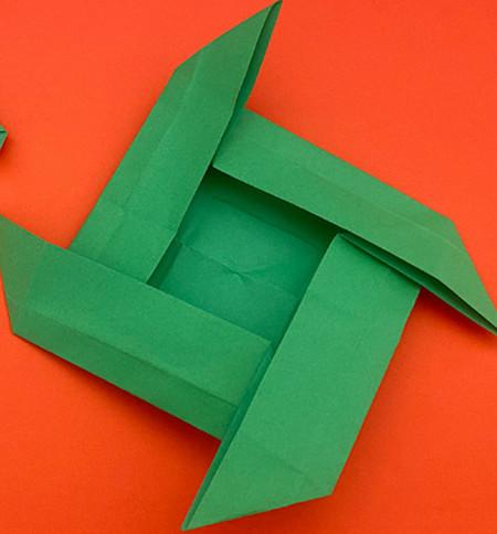 回力标折纸教程图解 手工折纸-第12张