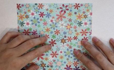花瓶折纸步骤图解 手工折纸-第2张