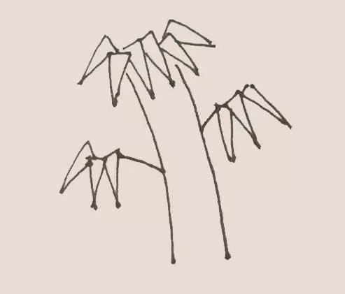 竹子儿童手绘简笔画教程 中级简笔画教程-第4张