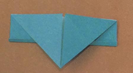 儿童手工折纸飞碟怎么折 手工折纸-第3张