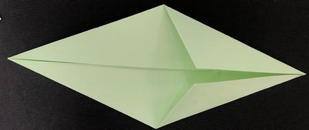 折纸鸽子的折法图解 手工折纸-第5张