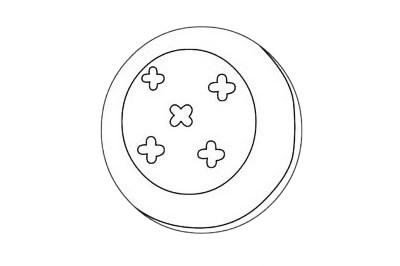 饼干简笔画图片