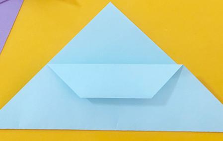 简单手工折纸小狗的步骤图解 手工折纸-第6张