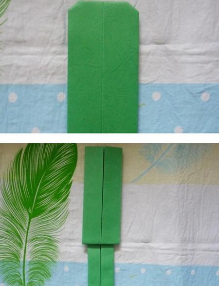 滑滑梯折纸步骤图 手工折纸-第9张