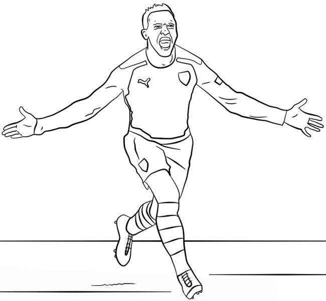 足球运动员简笔画图片 人物-第4张