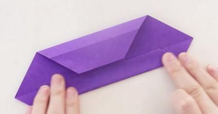 手工折纸文具盒步骤图 手工折纸-第6张
