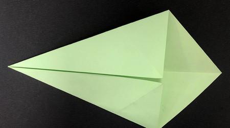 折纸鸽子的折法图解 手工折纸-第4张