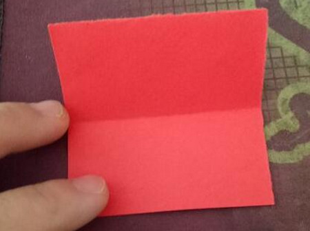 棒棒糖手工折纸步骤图解法 手工折纸-第2张