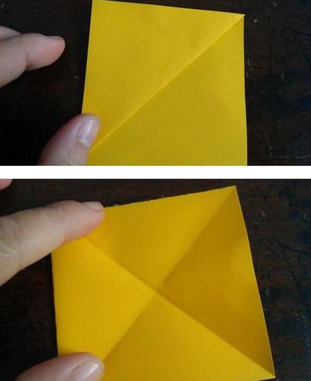 小狗指套怎么折 手工折纸-第3张