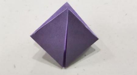 郁金香手工折步骤图解 手工折纸-第6张